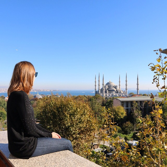 Rooftop view - Istanbul