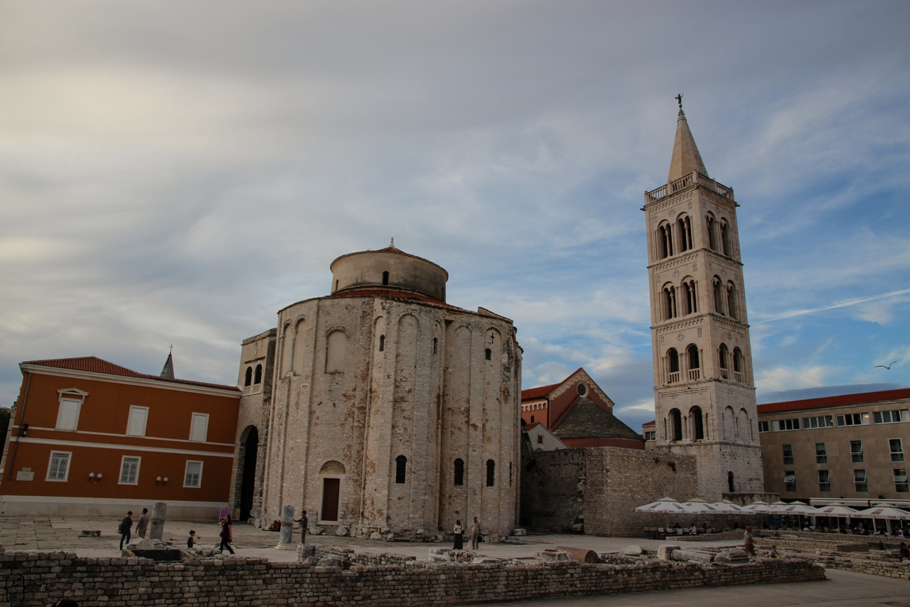 5 Zadar Forum Donatus Church and Anastias Cathedral