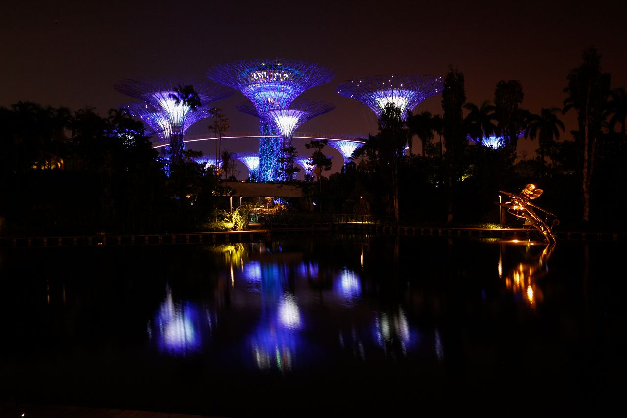 2 Gardens by the bay