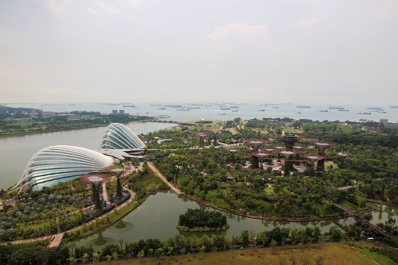 8 Gardens by the bay