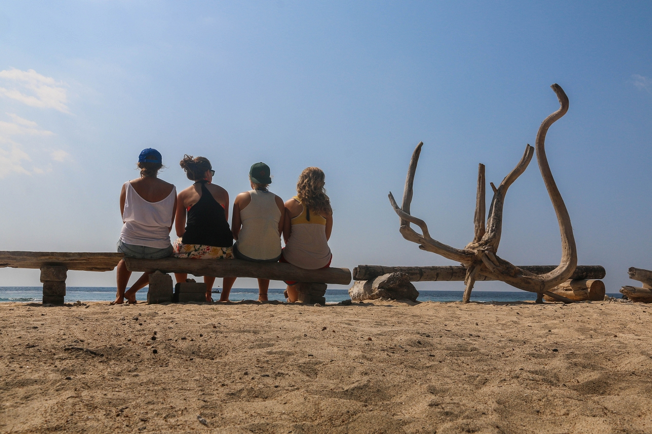 7 Friends on Gili Trawangan