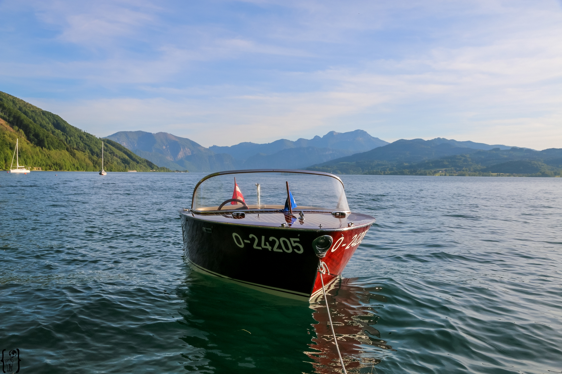 3 Motorboot Attersee