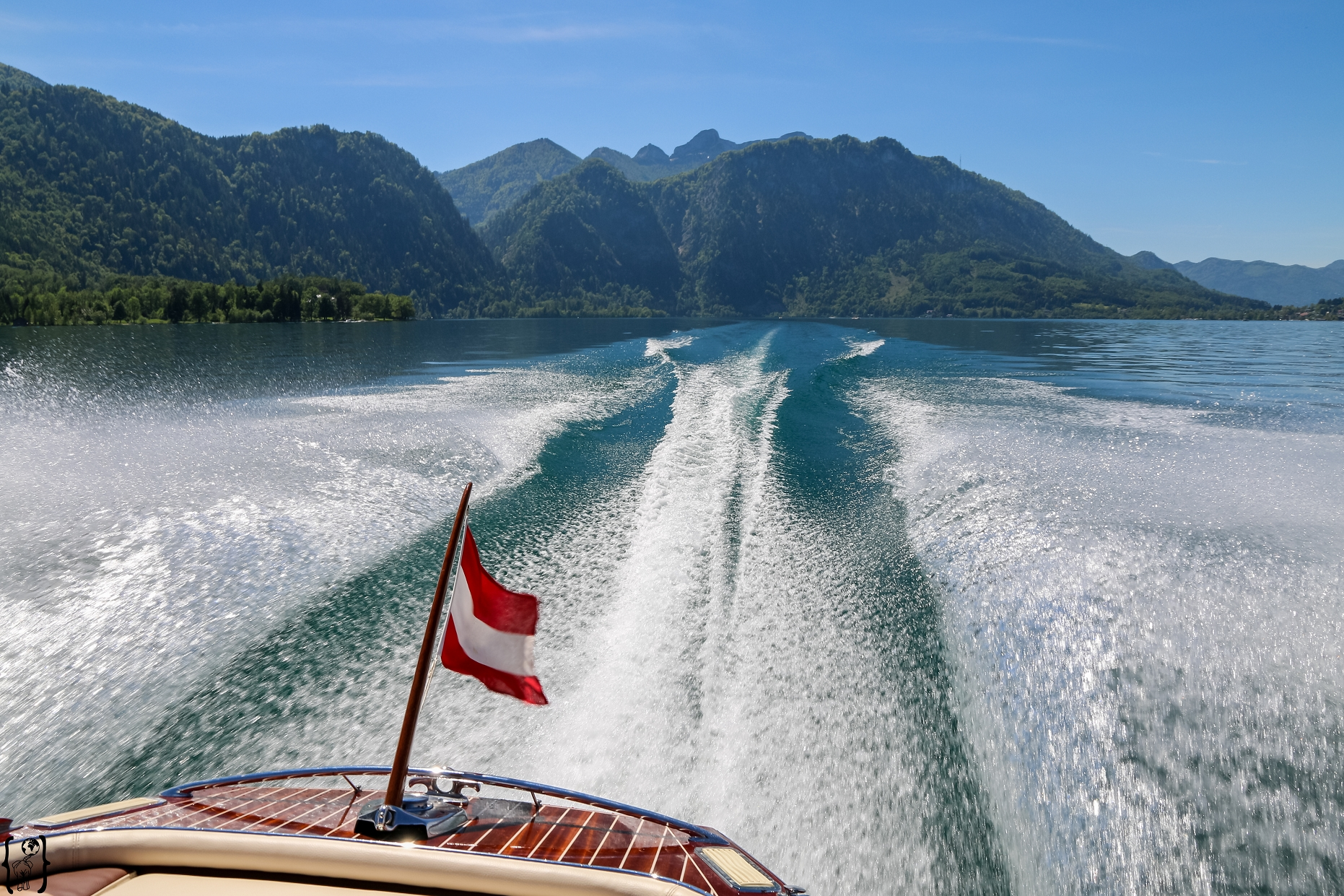 4 Motorboot Cruise am Attersee