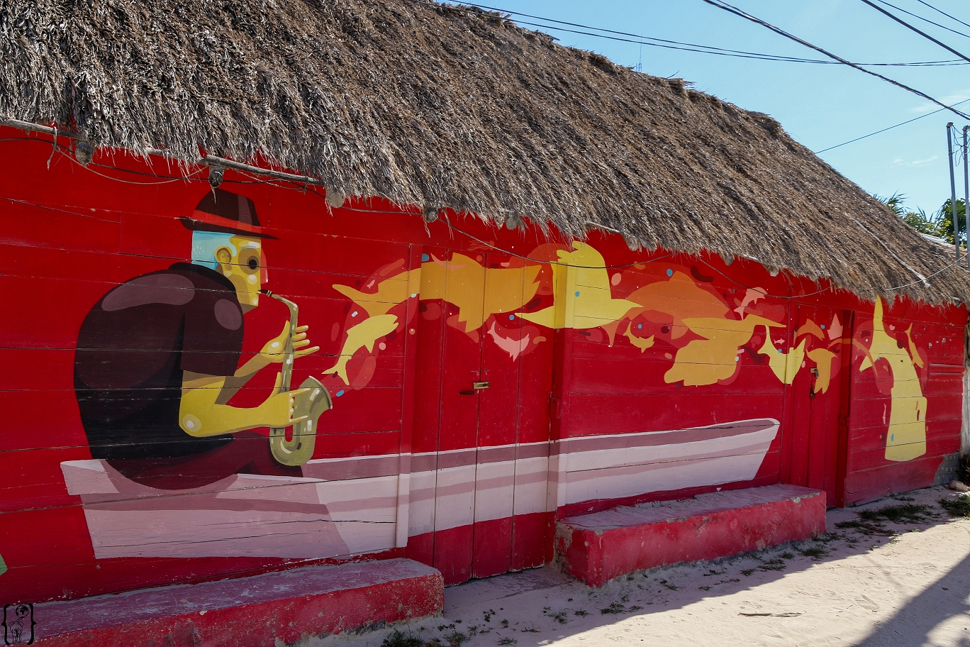 k-12 Art on Isla Holbox