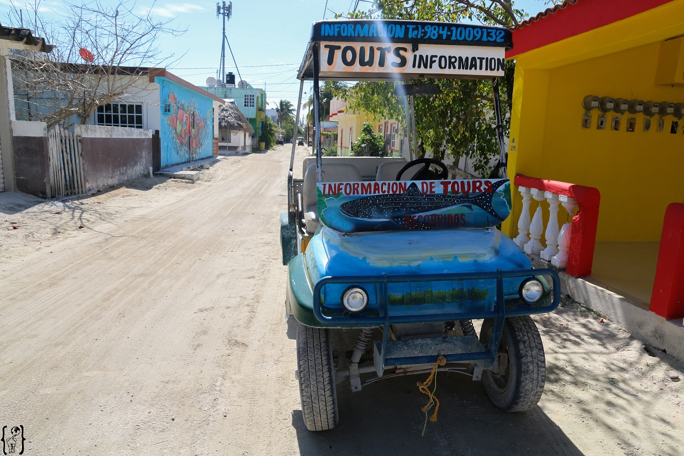 k-4 Golf Carts Holbox