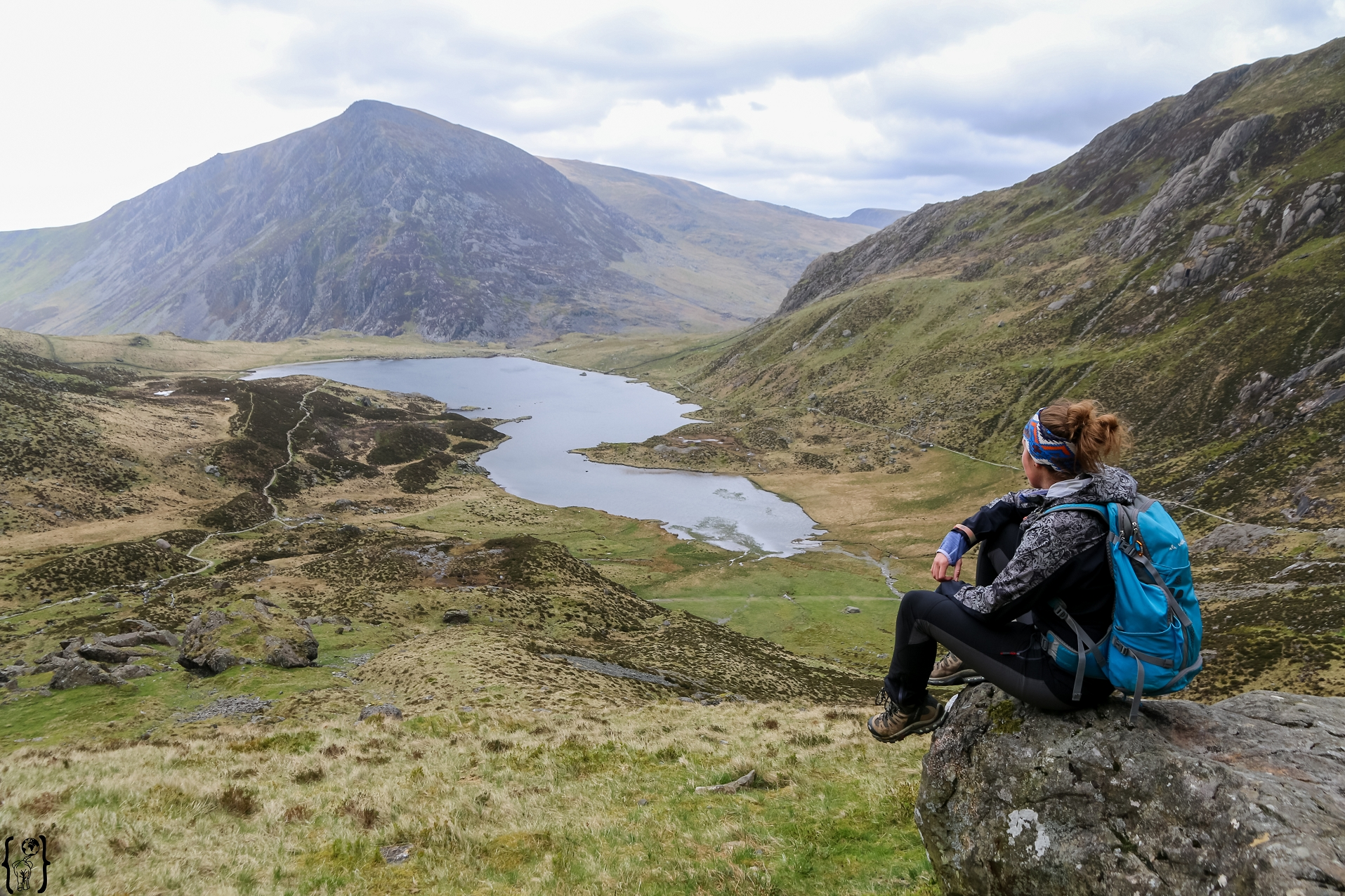 Tour um den Lake Idwal in Wales