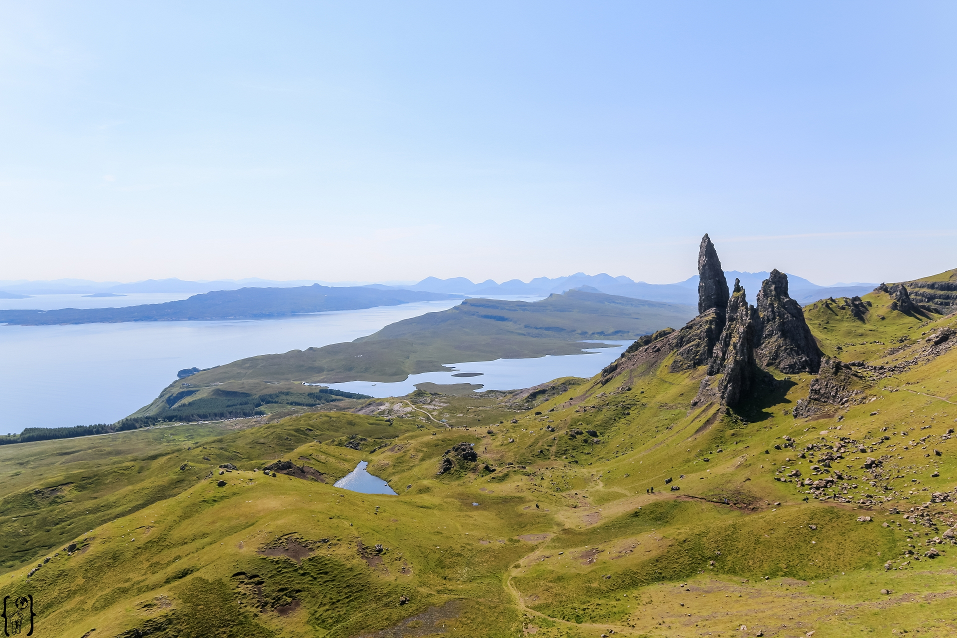 Old Man of Storr auf der Isle of Skye